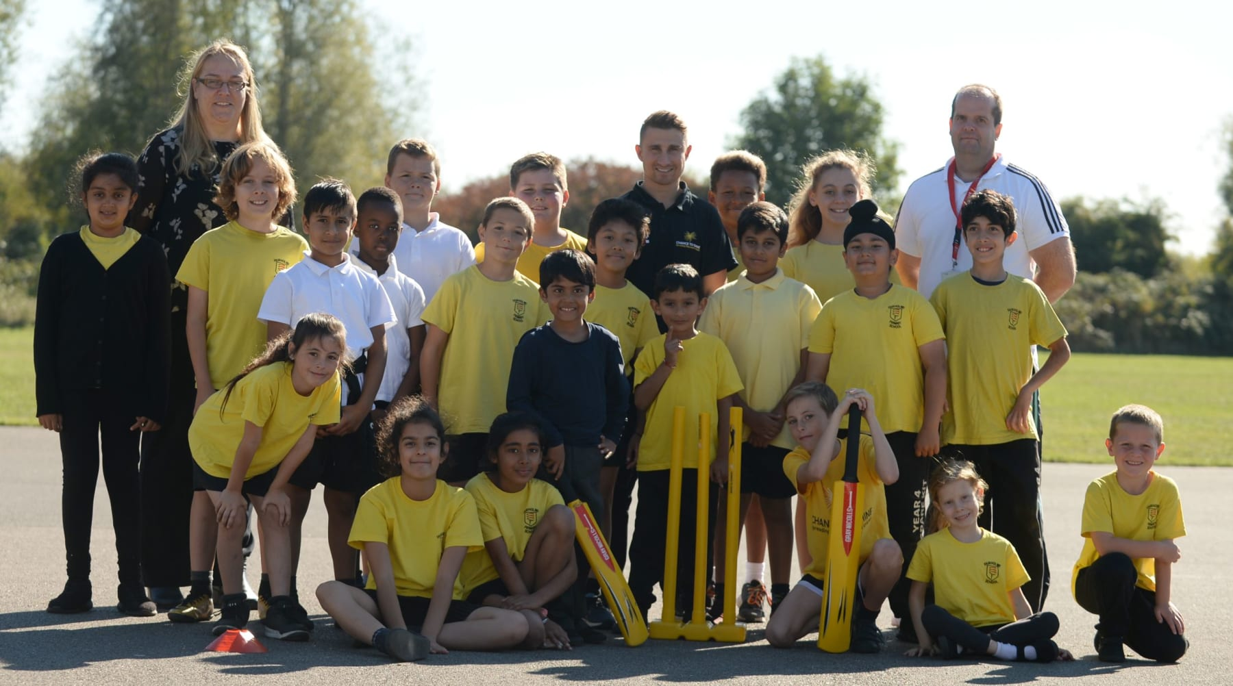 Cricket Soars In West London
