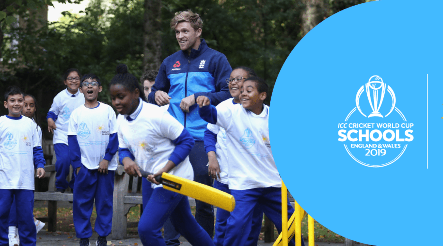 Cricket World Cup and Chance to Shine to engage schools across the country