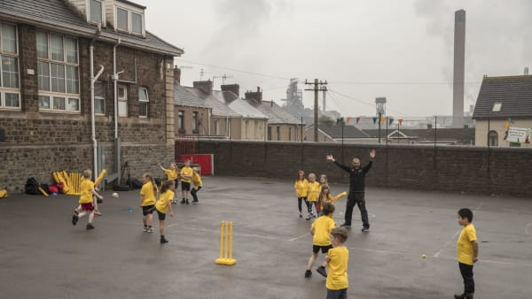Cricket proves its mettle in Port Talbot