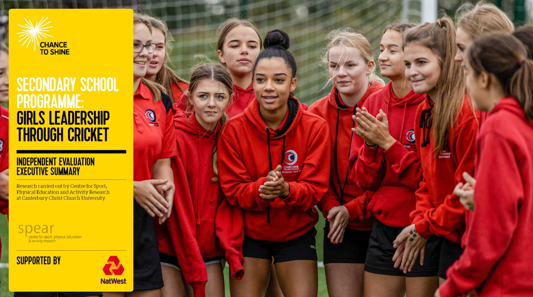 New research builds blueprint for success to support teenage girls to play sport and develop as leaders