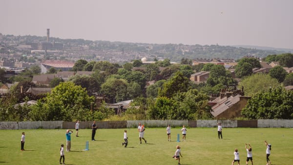 Worshipping cricket in Leeds