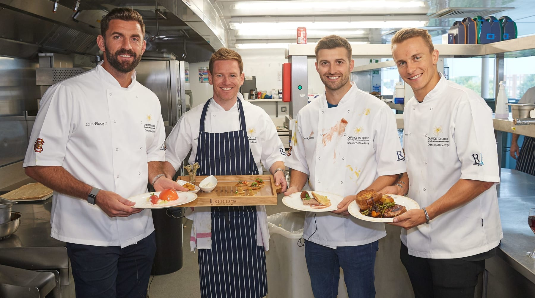World Cup stars return to Home of Cricket for charity cook off