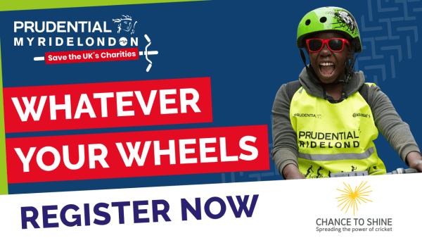 Raise funds for Chance to Shine in virtual MyRideLondon