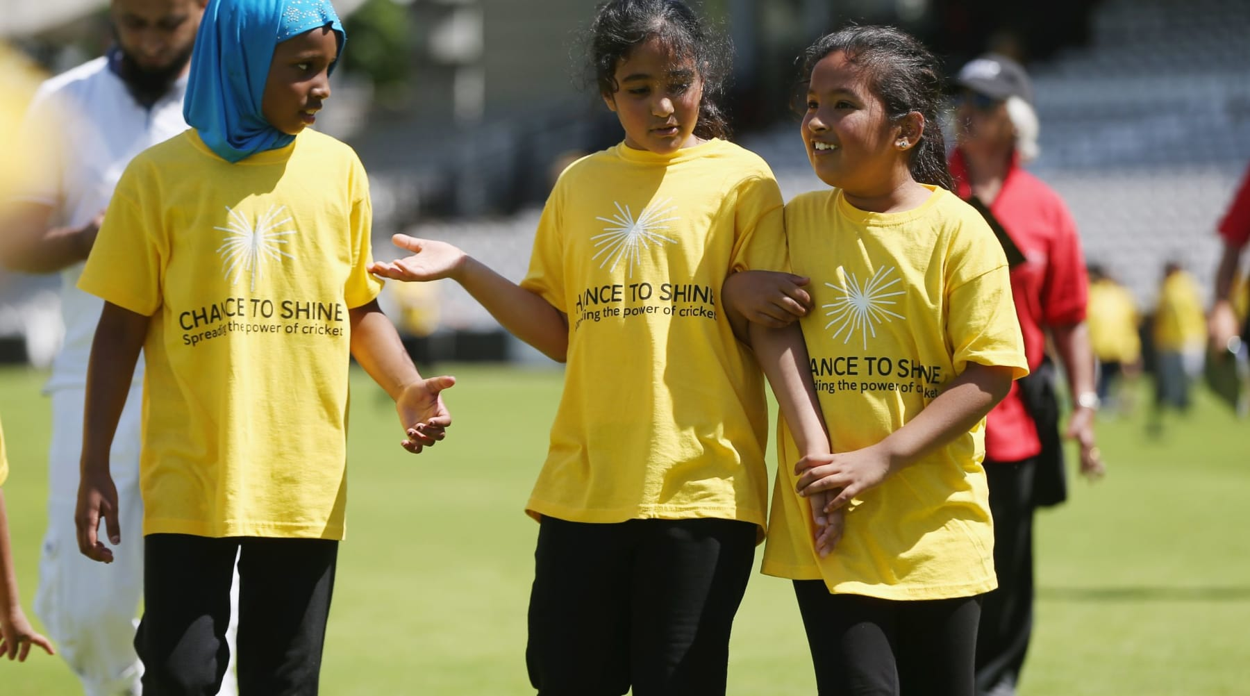 We aim to give all children the opportunity to play, learn and develop through cricket