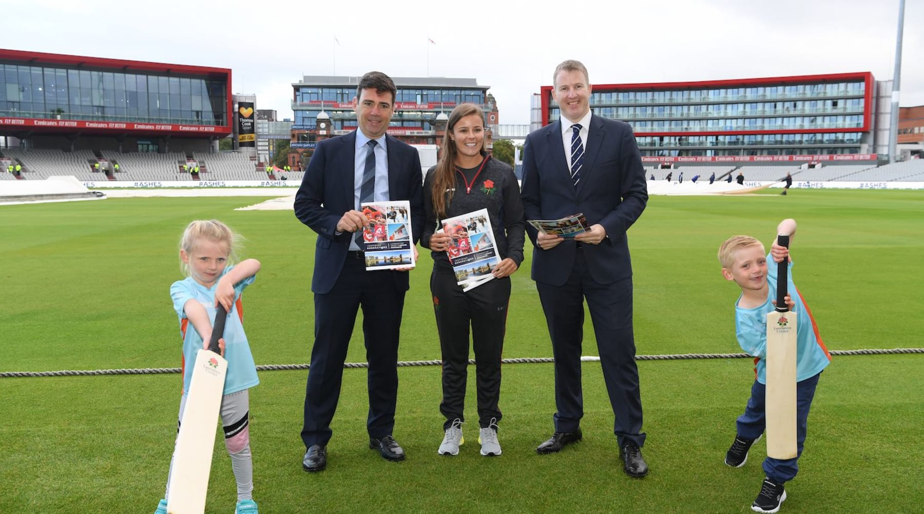 Ground-breaking new partnership set to inspire a new generation of Greater Manchester cricket lovers