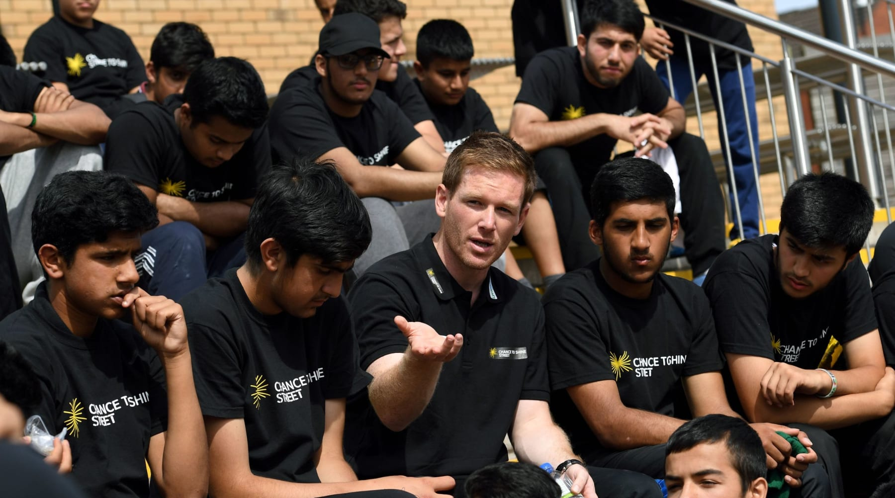England Captain inspires Street Cricketers at National Finals